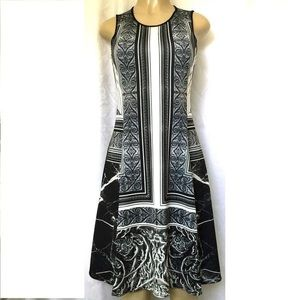 Clover Canyon Etched Marble A Line Dress Size Xs